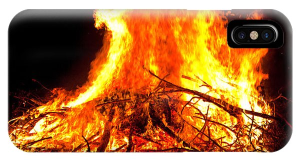 Burning Branches Phone Case by Claus Siebenhaar