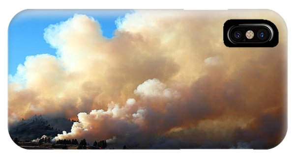 Burning In The Black Hills IPhone Case