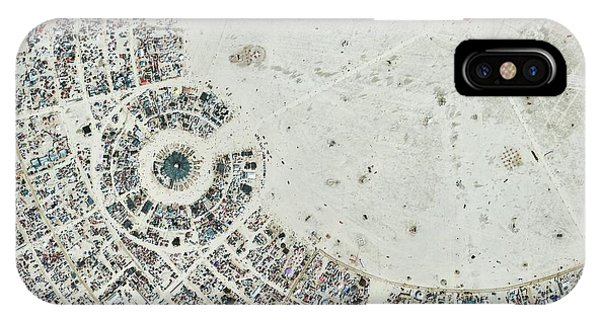 iPhone Case - Burning Man Festival by Geoeye/science Photo Library