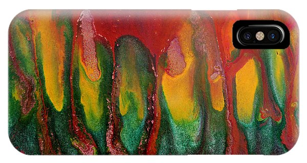Burning Sensation Abstract IPhone Case