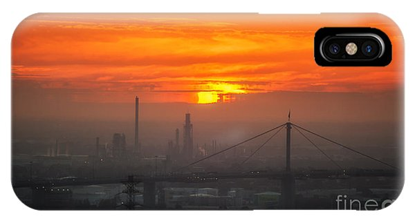 IPhone Case featuring the photograph Burning Sunset II by Ray Warren