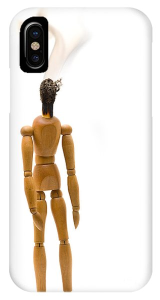 Burnout Phone Case by Shawn Hempel