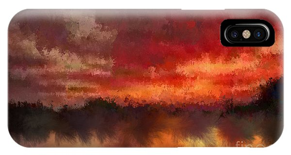 Burnt Sunset IPhone Case