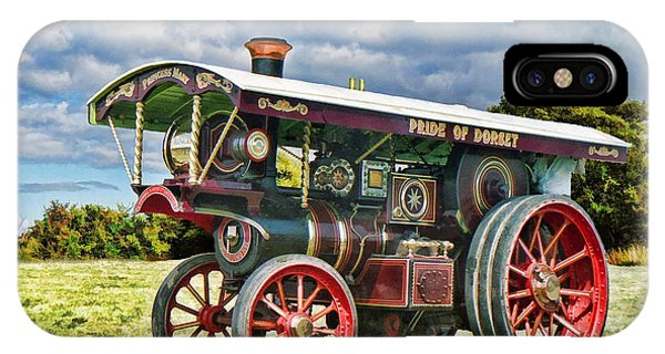 Burrell Showmans Engine IPhone Case