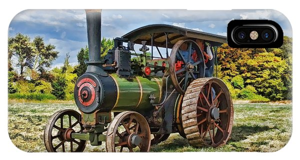 Burrell Steam Engine  IPhone Case
