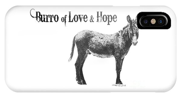 Burro Of Love And Hope IPhone Case