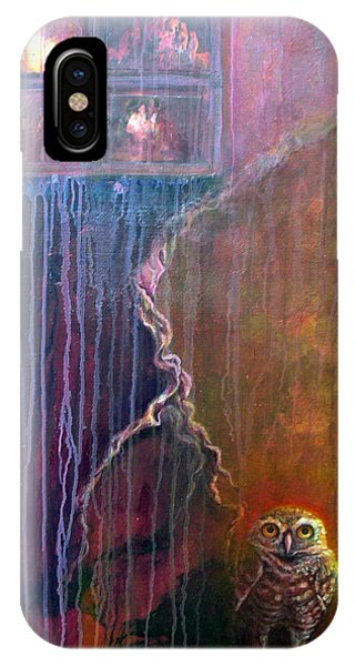 IPhone Case featuring the painting Burrow by Ashley Kujan