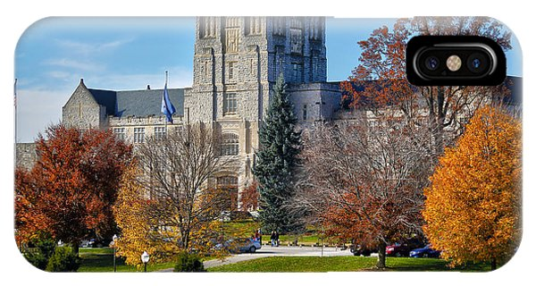 Burruss Hall IPhone Case