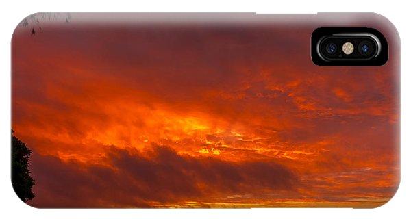 Bursting Sky IPhone Case