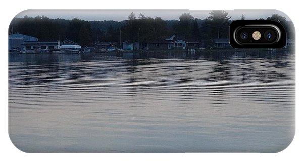 Burt Lake After Sunset IPhone Case