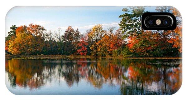 Burton Pond Sunset IPhone Case