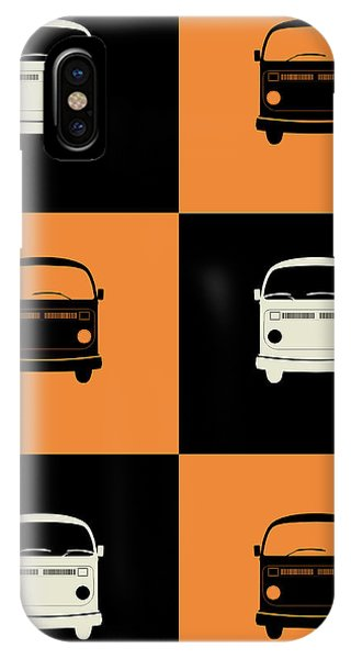 Witty iPhone Case - Bus Poster by Naxart Studio