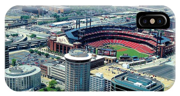 Busch Stadium From The Top Of The Arch IPhone Case