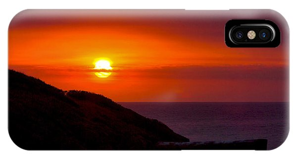 Bushfire Sky IPhone Case