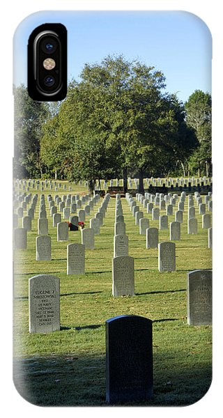 Bushnell National Cemetary IPhone Case