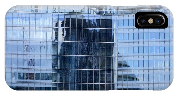 Business District Glass Building IPhone Case