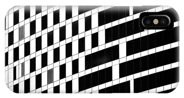 Facade iPhone Case - Business Facade by Hans-wolfgang Hawerkamp