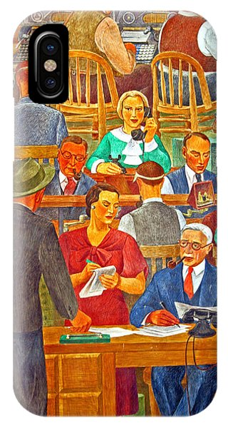 Business Looking Busy IPhone Case
