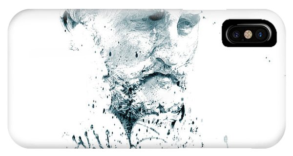 Bust Of A Man IPhone Case