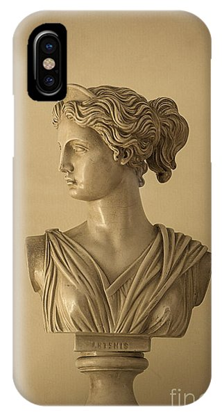 Bust Of Artemis IPhone Case