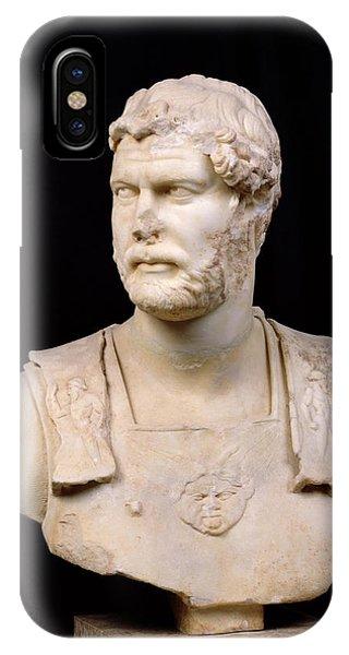 Bust Of Emperor Hadrian IPhone Case