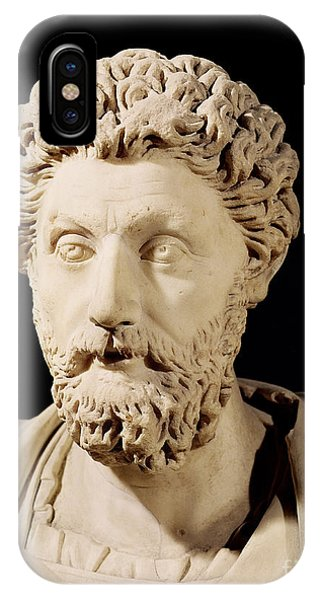 Bust Of Marcus Aurelius IPhone Case
