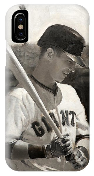 Buster Posey - Quiet Leader IPhone Case