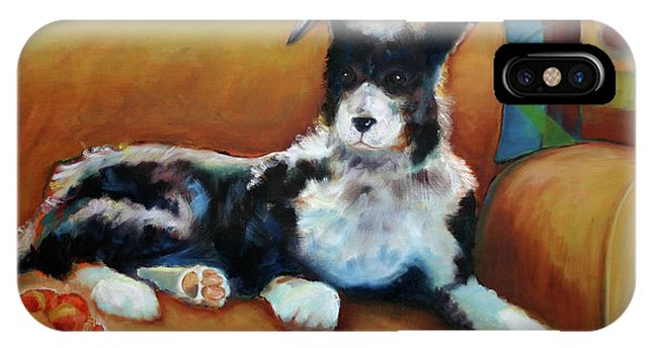 Buster The Border Collie IPhone Case