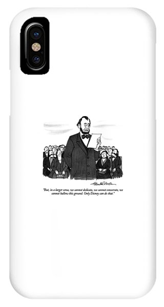 But, In A Larger Sense, We Cannot Dedicate IPhone Case