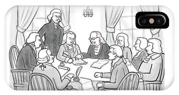 United States Presidents iPhone Case - But What If A Tyrant Comes To Power And No One's by Paul Noth