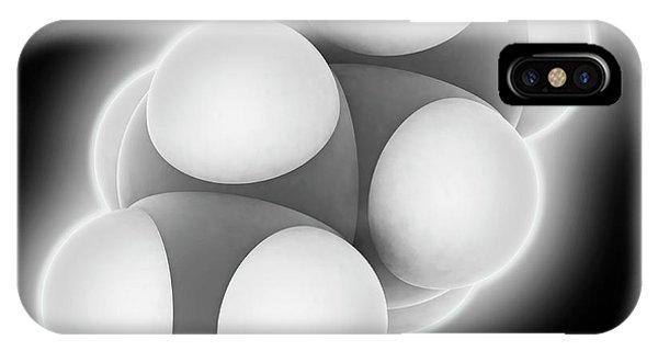 Flammable iPhone Case - Butane Molecule by Laguna Design