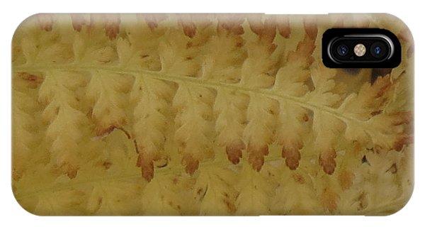Butter Ferns IPhone Case