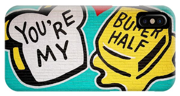 Butter Half IPhone Case