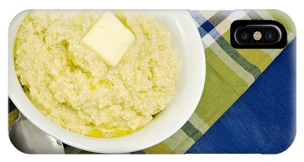 Cheese Grits With A Pat Of Butter IPhone Case