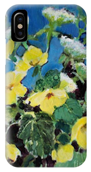 Buttercups And Queen Anne's Lace IPhone Case