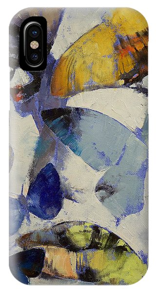Chrysalis iPhone Case - Butterflies by Michael Creese