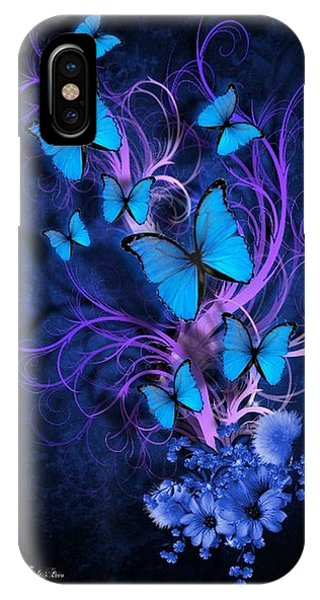 Butterfly Burst IPhone Case