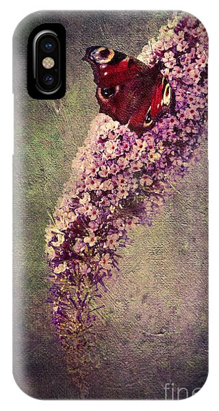 Close Up Floral iPhone Case - Butterfly Bush by Svetlana Sewell