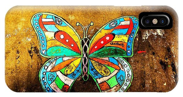 Butterfly Phone Case by Christian Rooney