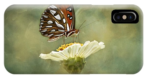 Close Focus Floral iPhone Case - Butterfly Dreams by Kim Hojnacki