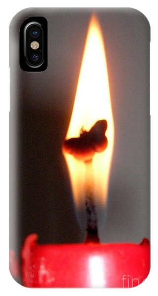 Butterfly Flame IPhone Case