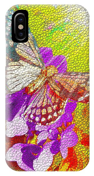 Butterfly In Sunlight IPhone Case