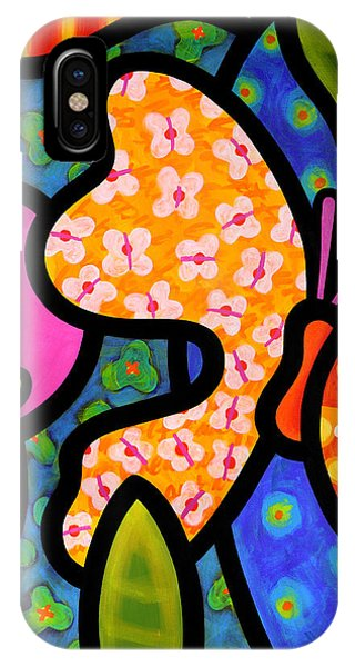 Insect iPhone Case - Butterfly Jungle by Steven Scott