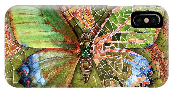 Butterfly Mosaic 03 Elena Yakubovich IPhone Case
