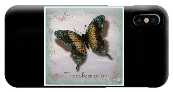 Butterfly Of Transformation IPhone Case