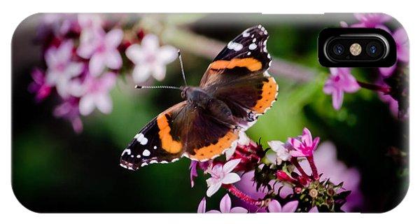 It Professional iPhone Case - Butterfly On Penta by Renee Barnes
