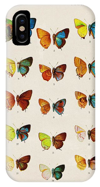 Vibrant iPhone Case - Butterfly Plate by Pati Photography