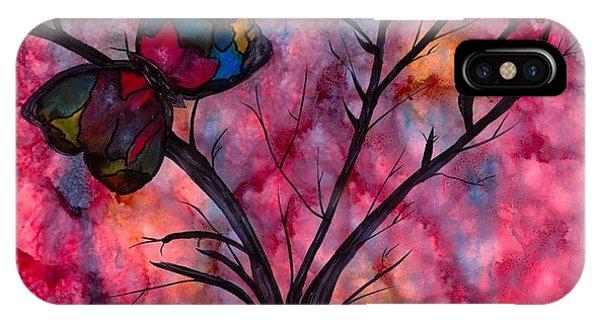Sherri iPhone Case - Butterfly Stains by Sherri Stewart