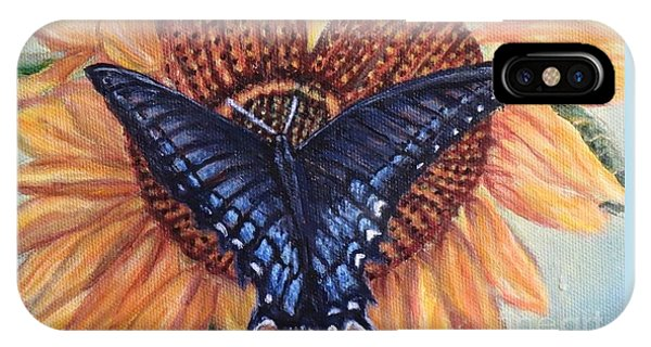 Butterfly Sunday Up-close IPhone Case