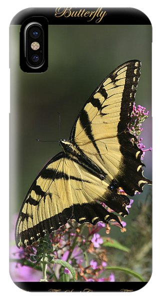 Butterfly Symbol Of IPhone Case